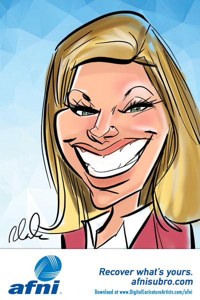Digital Caricatures Orlando
