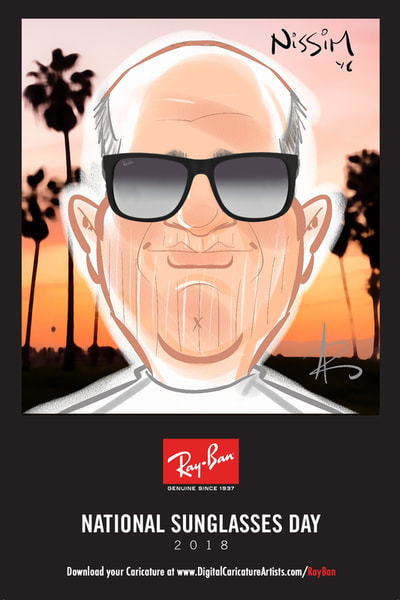 Digital Caricature Artists Los Angeles