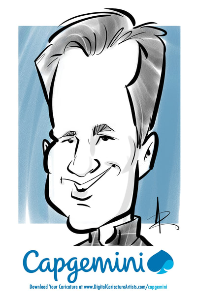 San Francisco Digital Caricature Artists Trade Show