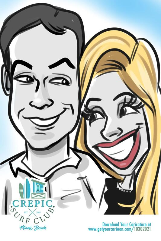 Digital Caricature Artists Naples